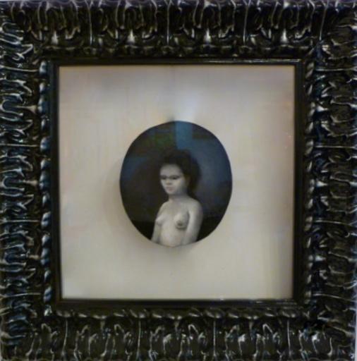 Jacques VOYET - Peinture - petit medaillon