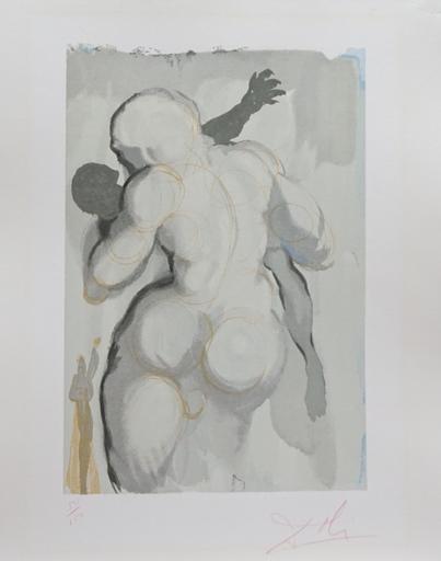 萨尔瓦多·达利 - 版画 - Divine Comedy Purgatory Canto 6