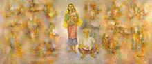 Romeo TABUENA - Pintura - Tradiciones Filipinas