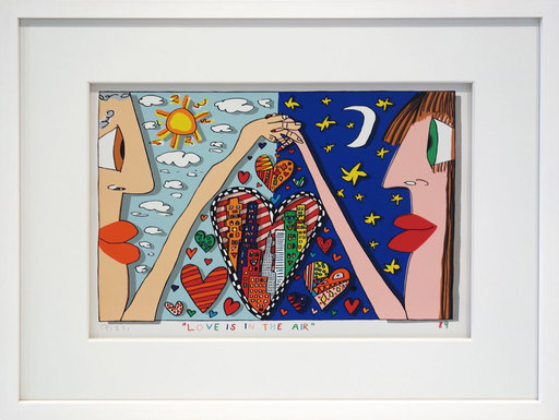 James RIZZI - Print-Multiple - Love is in the Air