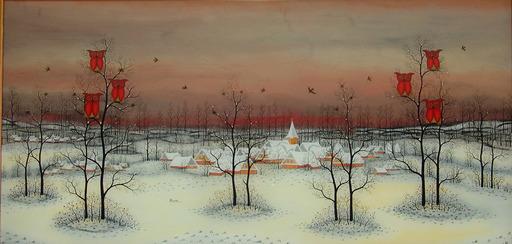 Manfred HORN - 绘画 - Grosser Winter
