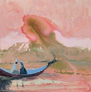 Genieve FIGGIS - Print-Multiple - Pink Sky