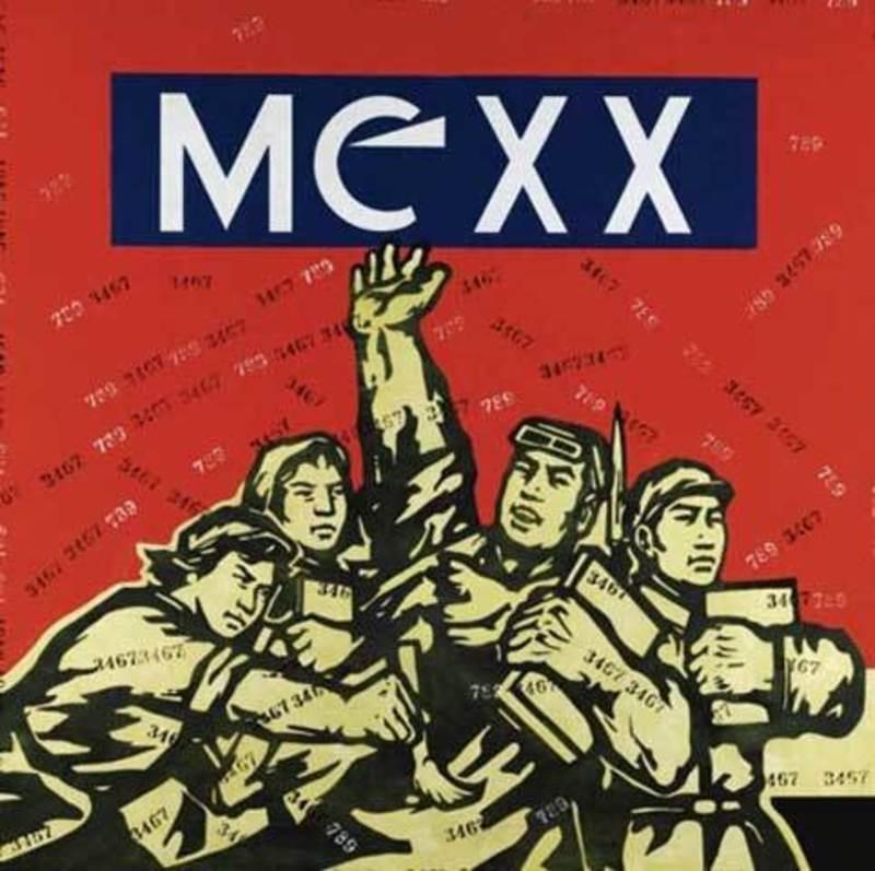WANG Guangyi - Peinture - Great criticism: Mexx
