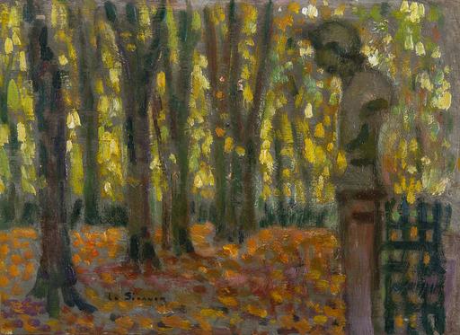 Henri LE SIDANER - Painting - Le buste, Automne