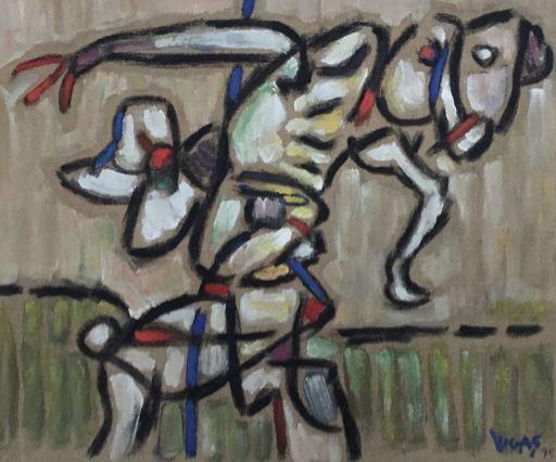 Oswaldo VIGAS - Peinture - Pelele Perico