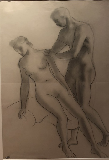 安德列·德兰 - 水彩作品 - Deux nus