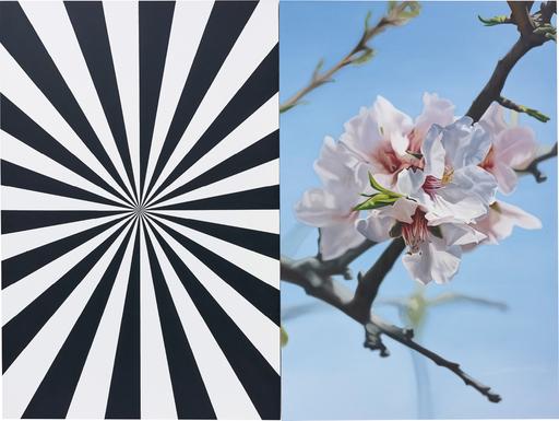Mustafa HULUSI - Pittura - Exstacy Almond Blossom 8