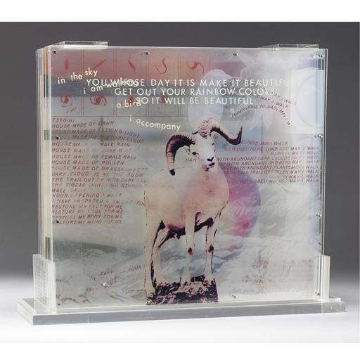 Robert RAUSCHENBERG - Stampa-Multiplo - Opal Gospel