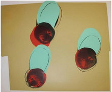 Andy WARHOL - Estampe-Multiple - Apples, from Space Fruit: Still Lifes