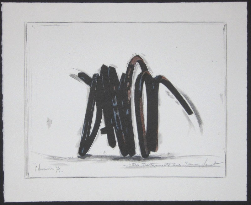 Bernar VENET - Print-Multiple - Two Indeterminate Lines