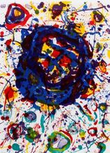 Sam FRANCIS - Print-Multiple - Untitled, from Michel Waldberg; 'Poemes dans le Ciel' (SF-31