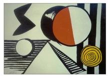 Alexander CALDER (1898-1976) - Le S Et Le O