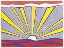 Roy LICHTENSTEIN (1923-1997) - Sunrise