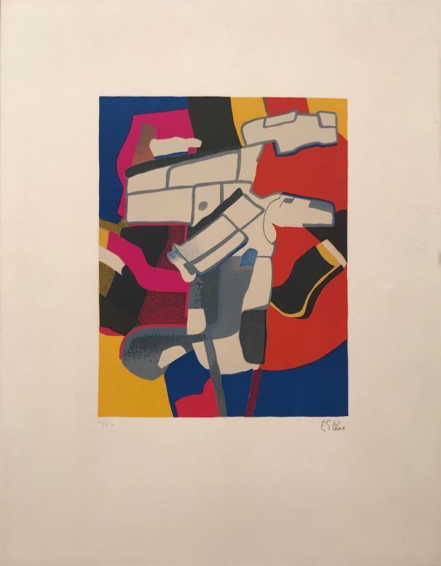 Maurice ESTEVE - Print-Multiple - Bougri