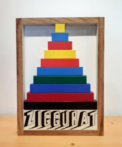 Joe TILSON - Escultura - Ziggurat
