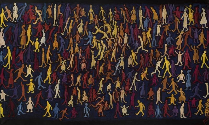 Alexander AIZENSHTAT - Painting - The Movement Of Life