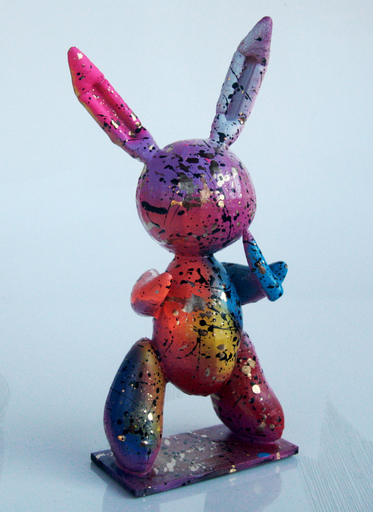 SPACO - Sculpture-Volume - sculpture pink RABBIT