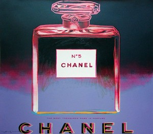 Andy WARHOL - Stampa-Multiplo - Chanel (FS II.354)