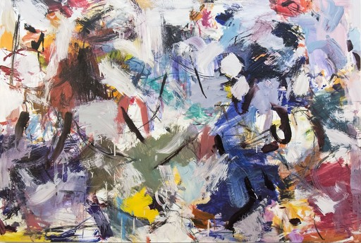 Peter HOFFER - Painting - Ouvert No 11
