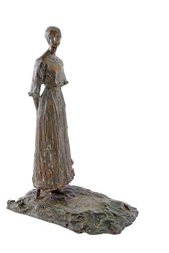 Pavel Petrovitch TRUBETSKOY - Escultura - La cadette de Madame et Monsieur William K.Vanderbilt