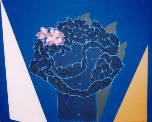 Concetto POZZATI - Painting - A che punto siamo con i fiori