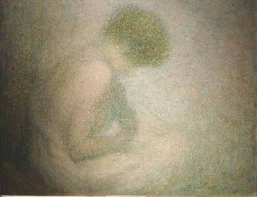 Lucien BOULIER - Painting - Réverie