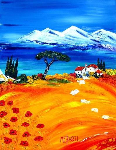 Marie-France BUSSET - Gemälde - UN ECRIN DE LA MEDITERRANEE