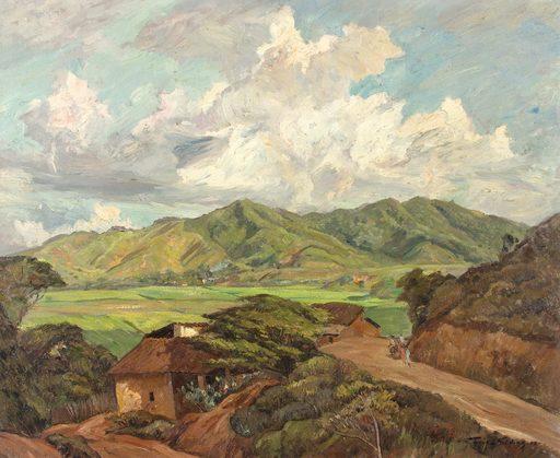 Tomás GOLDING - Gemälde - Valles de Aragua