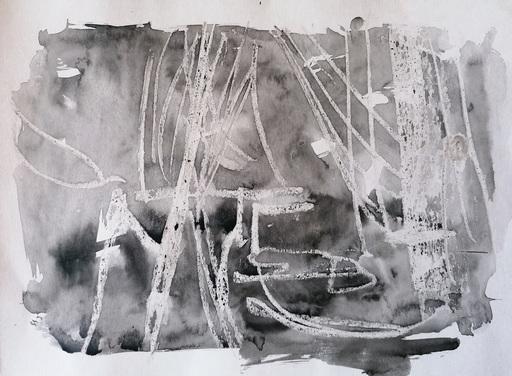 Diana KIROVA - Zeichnung Aquarell - CBG10