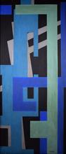 José MIJARES - Pintura - Untitled (Cubism Abstract)