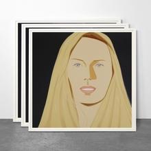 Alex KATZ (1927) - Three Portraits: Sara, Sophie and Vivien (Portfolio of 3)