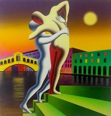 Mark KOSTABI - Painting - Rising passion