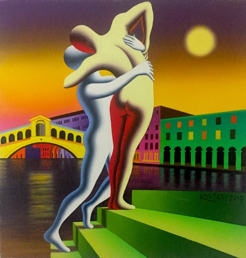 Mark KOSTABI - Pintura - Rising passion