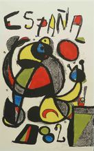 Joan MIRO (1893-1983) - Football World Cup - Spain 1982