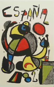 Joan MIRO, Football World Cup - Spain 1982