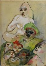 Mino MACCARI - Painting