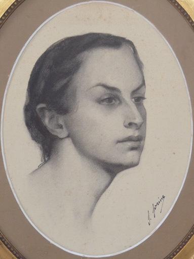 Savely Abramovich SORINE - Zeichnung Aquarell