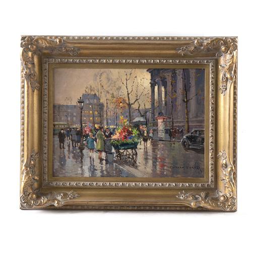 Édouard CORTES - Pintura - Place de la Madeleine