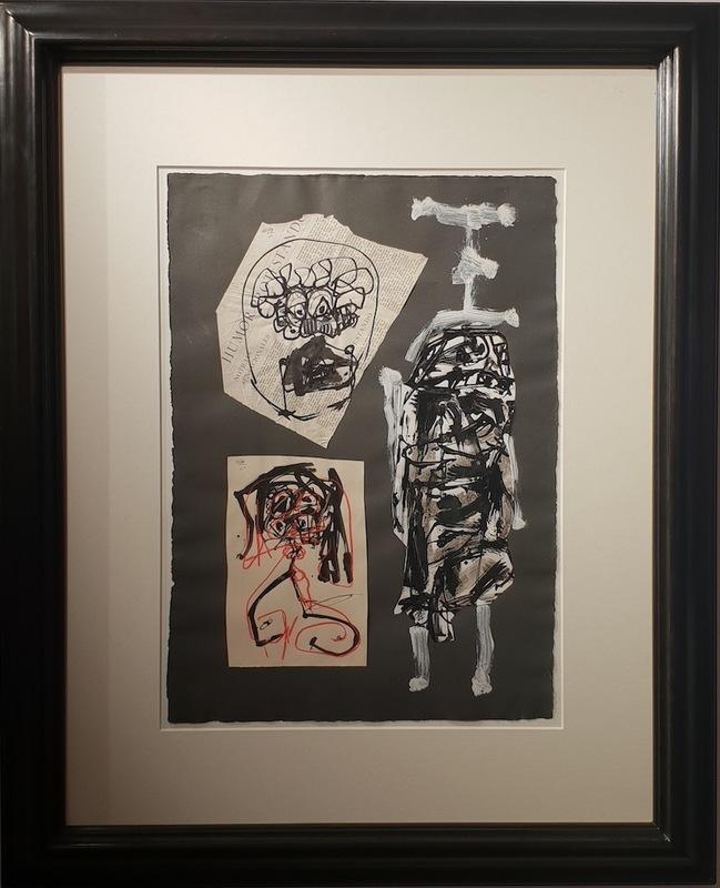 Antonio SAURA - Painting - Las tres Damas