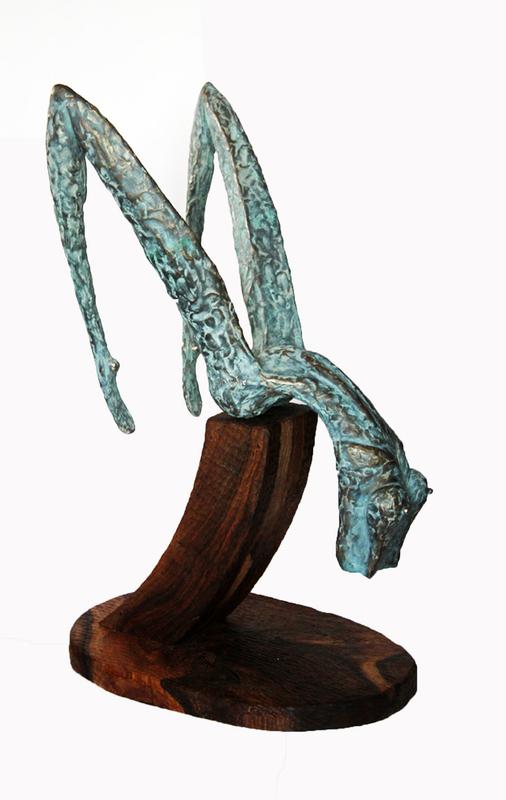 Levan BUJIASHVILI - Sculpture-Volume - Grace # 5