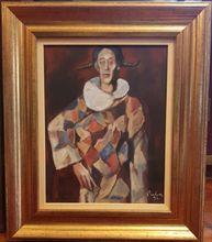 Corneliu BABA - Painting - Arlechino