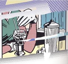 Roy LICHTENSTEIN (1923-1997) - Reflections on Soda Fountain