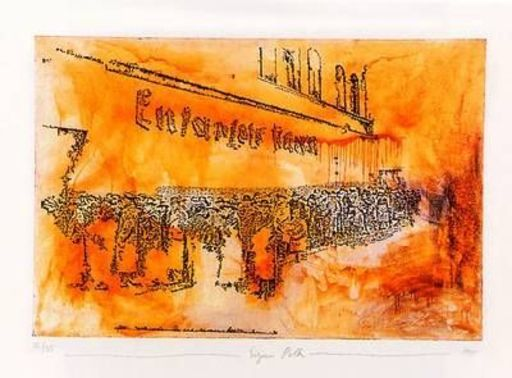Sigmar POLKE - Estampe-Multiple - Entartete Kunst - Degenerated Art