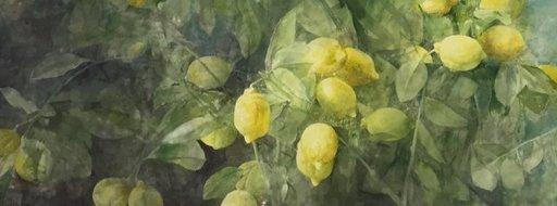 Pedro CANO - Gemälde - Limones