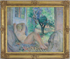 Henri Baptiste LEBASQUE - Painting - Grand Nu (Marinette), Le Cannet
