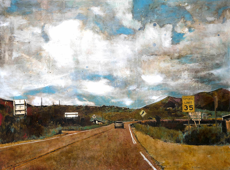 Ayline OLUKMAN - Painting - Colorado Road