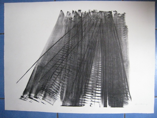 Hans HARTUNG - Estampe-Multiple - Composition nos 15