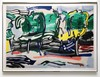 Roy LICHTENSTEIN - Stampa-Multiplo - Road Before The Forest, from the Landscapes Series