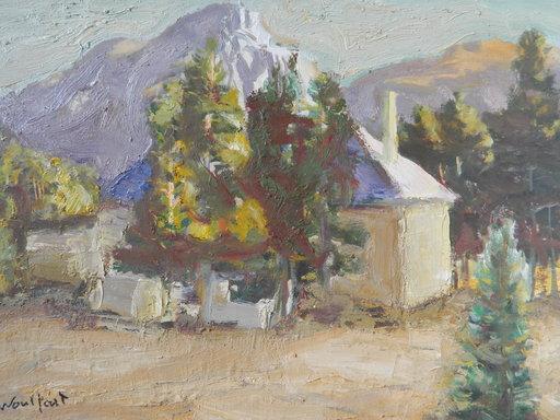Marius WOULFART - Painting - PAYSAGE