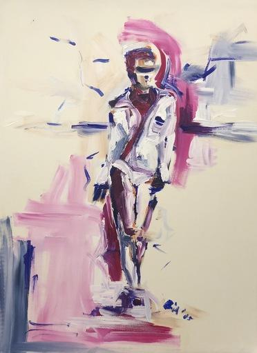 Nicole LEIDENFROST - Gemälde - Am Strand von Barcelona
